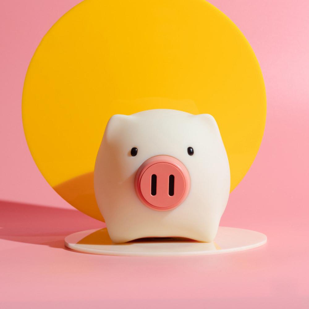 夜明豬造型情感燈/小夜燈/伴睡燈
