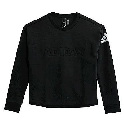 Adidas ID CREW W-長袖上衣-女
