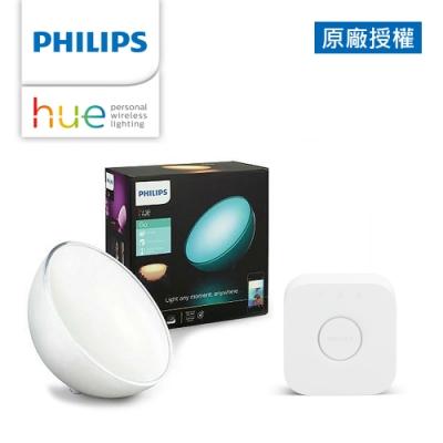 Philips 飛利浦 Hue 智慧照明 娛樂組  Hue Go情境燈2入+橋接器(PH003)