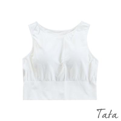 一體式短版BRA背心 共二色 TATA-F