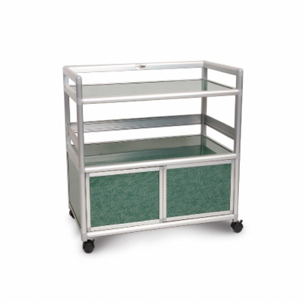 Cabini小飛象-花崗綠得意2.5尺鋁合金餐櫃73.5x50.8x83.6cm
