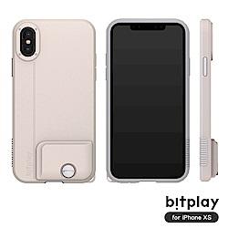 bitplay SNAP! iPhone XS專用 全包覆輕量防摔相機殼 拿鐵白