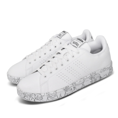 adidas 休閒鞋 Advantage 寶可夢 寶貝球 男鞋