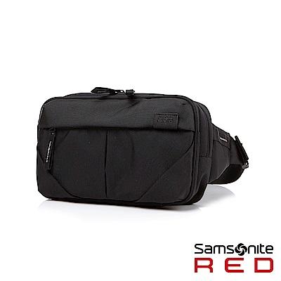 Samsonite RED PLANTPACK 防潑水高密度尼龍單肩背包(黑)
