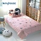 【myhouse】韓國超細纖維兩件式四季枕被組 - 滿天星