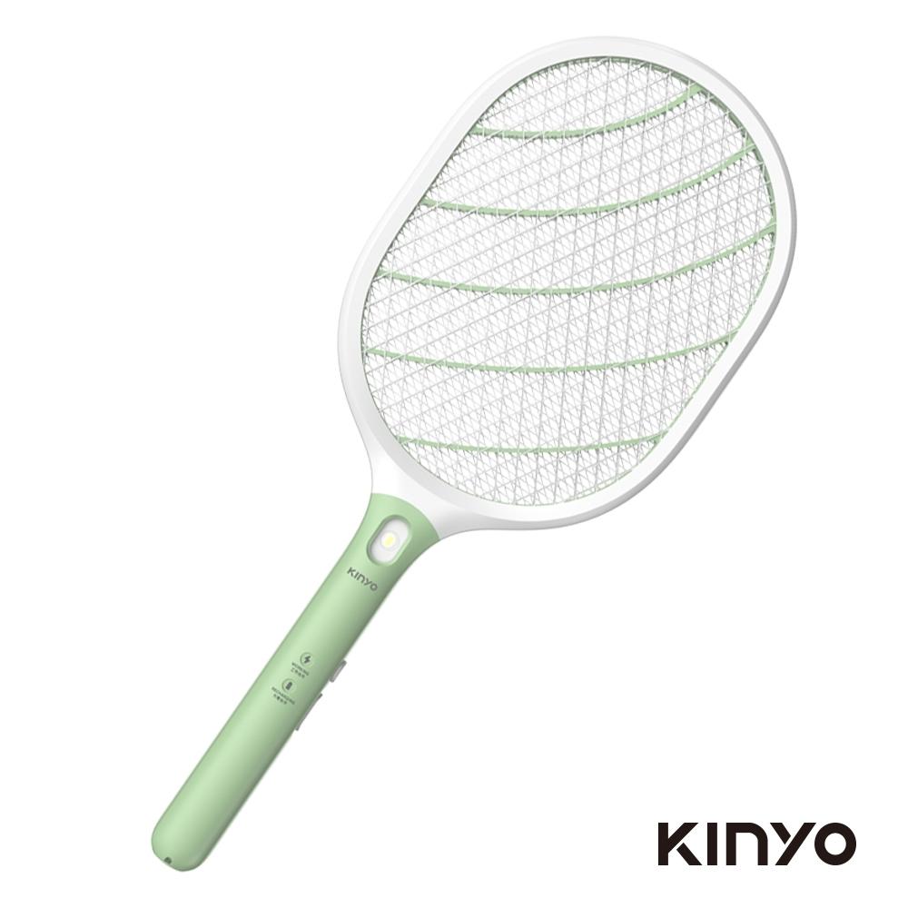 (售完不補)KINYO充電式照明電蚊拍CM3310