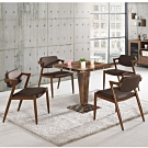 MUNA 魯伯特2.3尺商業桌(不含椅) 70X70X75.5cm