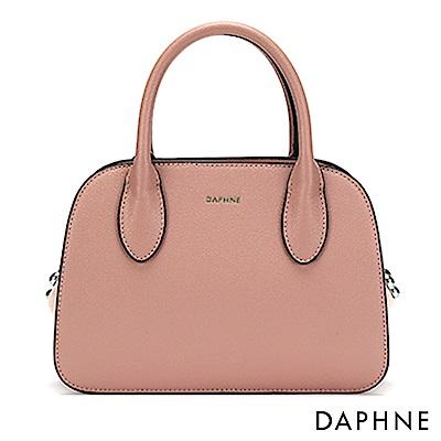 達芙妮DAPHNE-優雅串珠多用包休閒手提單肩包-粉紅