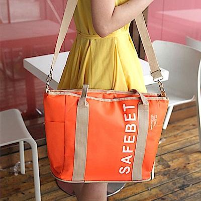 E.City_加厚大容量外出旅遊保溫包購物包
