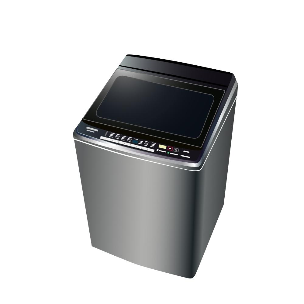 [館長推薦] Panasonic國際牌 16KG 台灣製 變頻雙科技溫水直立式洗衣機 NA-V160GBS-S 不鏽鋼