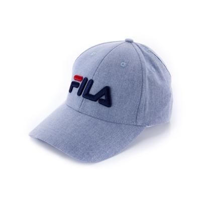 FILA 經典款六片帽-藍 HTU-1000-BU