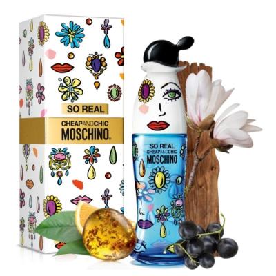 Moschino SO REAL 奧莉薇女性淡香水 100ml