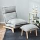 樂嫚妮 五段式懶人沙發/躺椅/單人沙發-附腳凳 product thumbnail 2