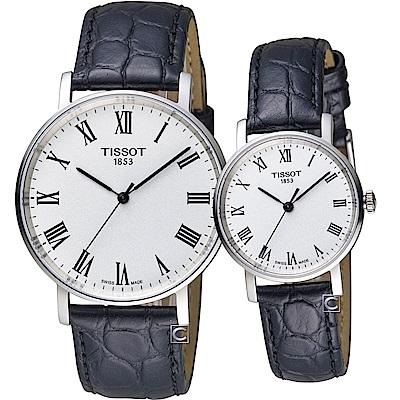 TISSOT天梭Everytime經典時尚對錶