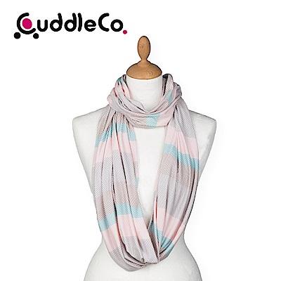 英國CuddleCo 多功能時尚造型哺乳圍巾-北歐條紋