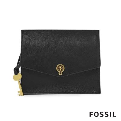 FOSSIL STEVIE 都會簡約造型黑色側揹包 ZB7827001