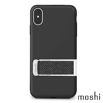 Moshi Capto for iPhone XS Max 指環支架織帶保護殼