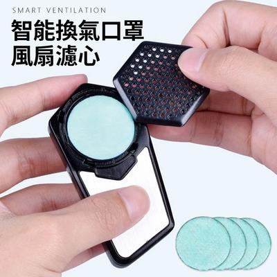 立清淨 運動型智能口罩 專用風扇濾心(5入1包)