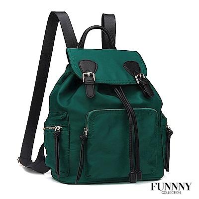 FUNNNY 經典尼龍後背包系列 Macey 綠