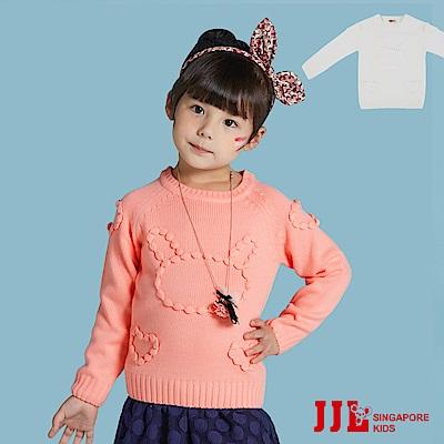 JJLKIDS 立體小兔毛衣(2色)
