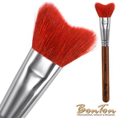 BonTon 原木系列 M形修容/腮紅刷 RTK08 特級尖鋒羊毛