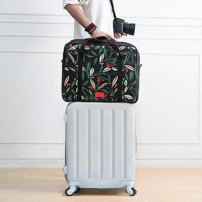 【暢貨出清】JIDA 禾風超質感加厚大容量可折疊旅行拉桿收納袋