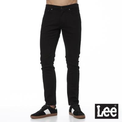 Lee 牛仔褲 709 低腰合身小直筒 男 黑 彈性