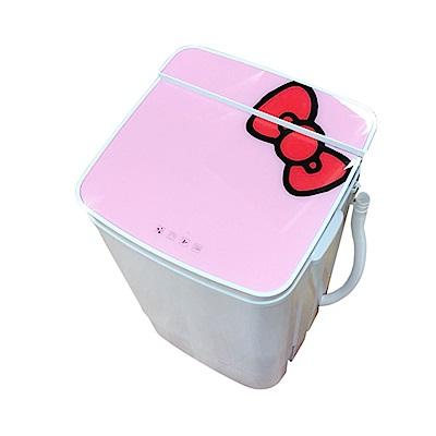 福利品 EDISON愛迪生 5.8KG 定頻直立式洗衣機 粉紅 E0001-A58Z