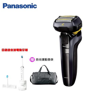 Panasonic國際牌5D刀頭 電動刮鬍刀 ES-LV5E-K 黑色
