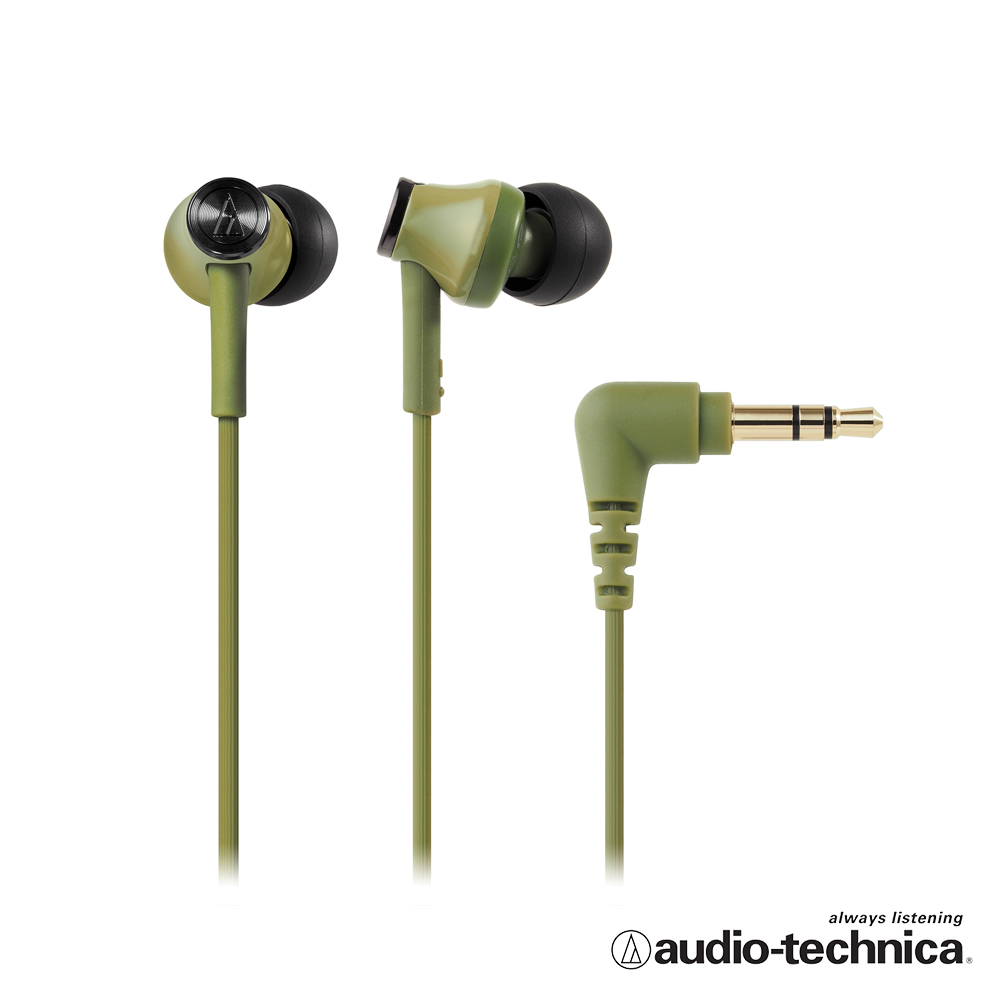 鐵三角 ATH-CK350M 耳塞式耳機(附捲線器) product image 1