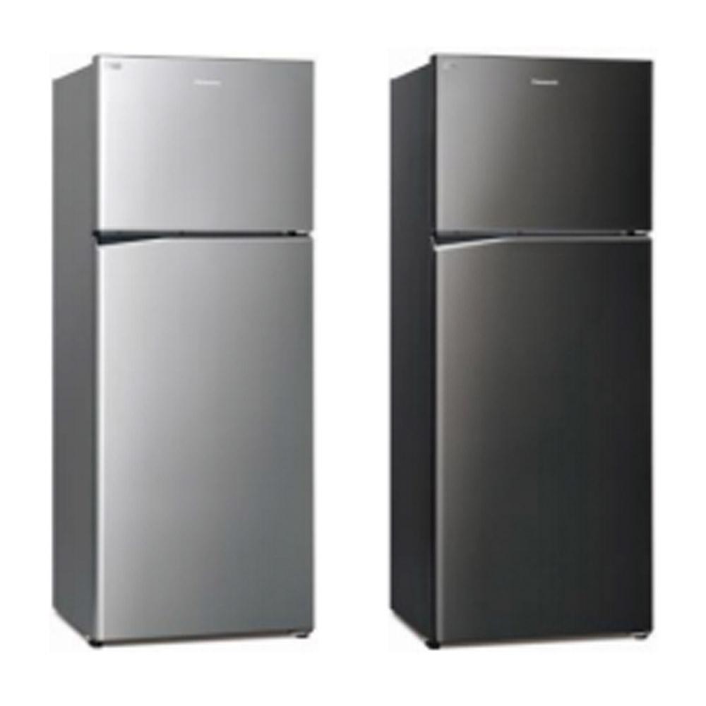 [館長推薦] Panasonic國際牌 485L 台灣製 一級能效變頻ECONAVI雙門冰箱 NR-B481TV-K 晶漾黑