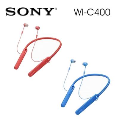 SONY WI-C400 無線藍牙入耳式耳機 無線麥克風