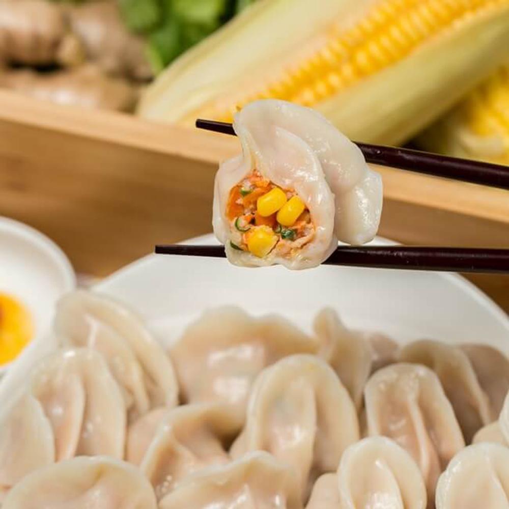 任選跩媽咪手工水餃-玉米豬肉(720g)