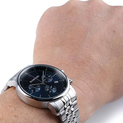 WENGER Urban 即刻獵殺計時腕錶(01.1743.105)藍/44mm