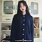 【AIRKOREA正韓空運】學院風針織羊毛衫