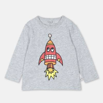 Stella McCartney 灰色噴射火箭上衣