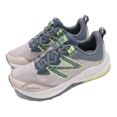 New Balance 慢跑鞋 Nitrel v4 D Wide 寬楦 女鞋 紐巴倫 越野跑鞋 耐磨橡膠大底 運動 紫 灰 WTNTRCL4D