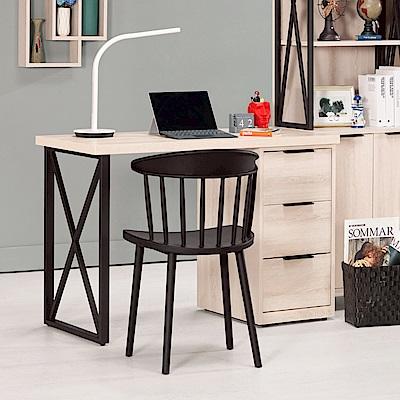 AS-塔莉絲4尺三抽書桌-120.5x56.5x75.5cm(不含椅)