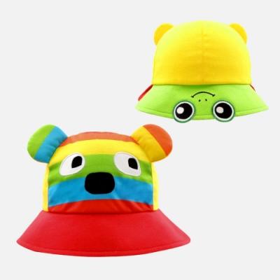 WHY AND 1/2 mini 前後戴普普熊遮陽帽