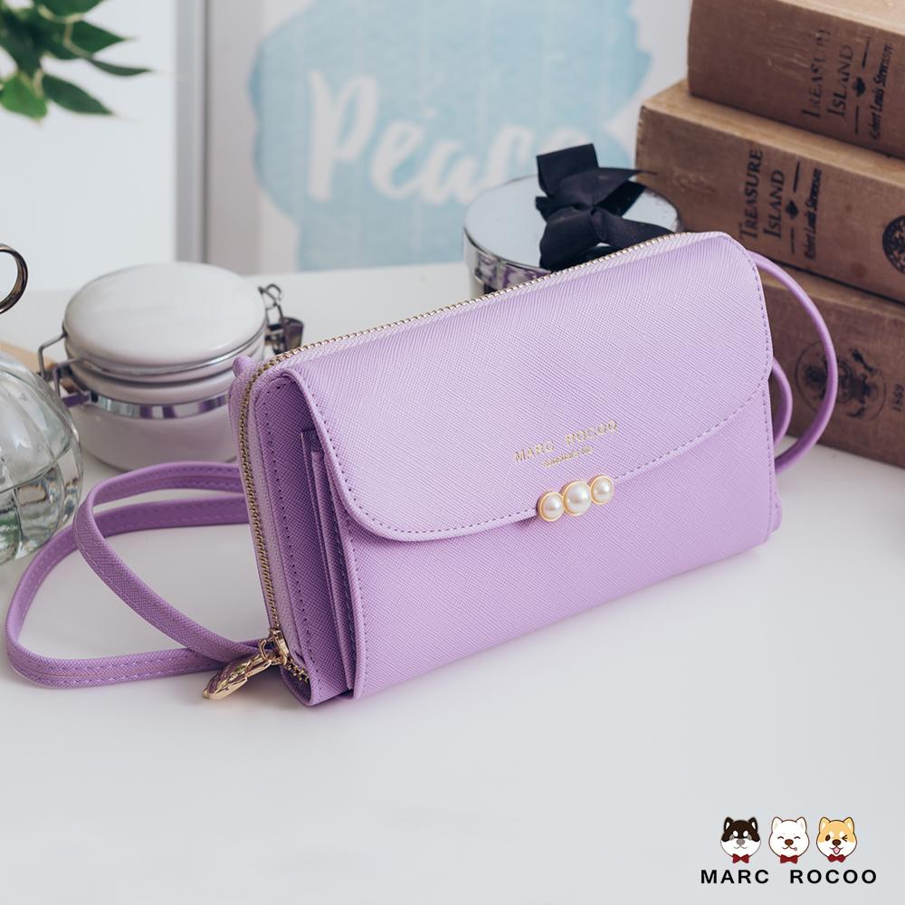 MARC ROCOO-簡約交響曲系列-多卡層迷尼隨身包-MR-316-薰衣草紫