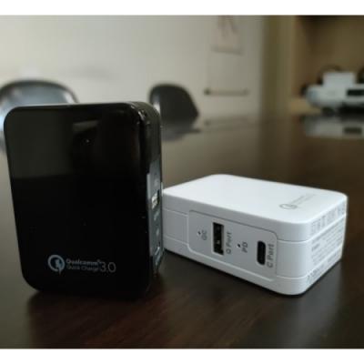 【JCL】Quick Charge 3.0 &Type C& USB3.1 三合一 PD 快速充電器