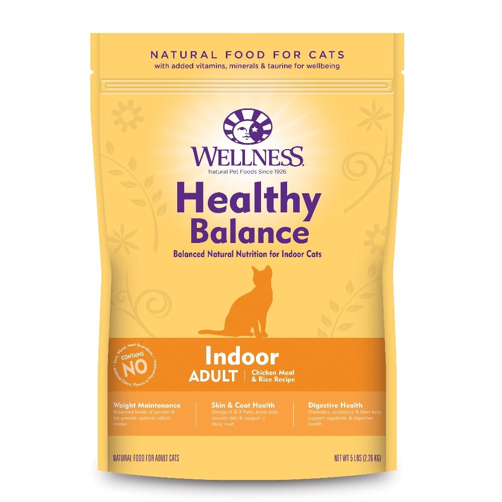 【買一送一】Wellness 健康均衡 室內貓 低卡健康食譜 5磅