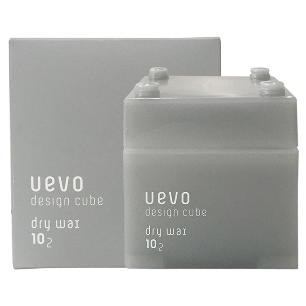 日本DEMI UEVO 卵殼膜彩色造型乾髮蠟-灰積木(80G)