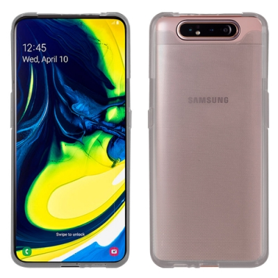 Metal-Slim Samsung Galaxy A90 時尚超薄TPU透明軟殼