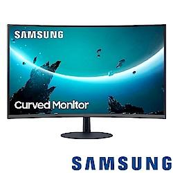 SAMSUNG C24T550FDC 24型1000R曲面螢幕