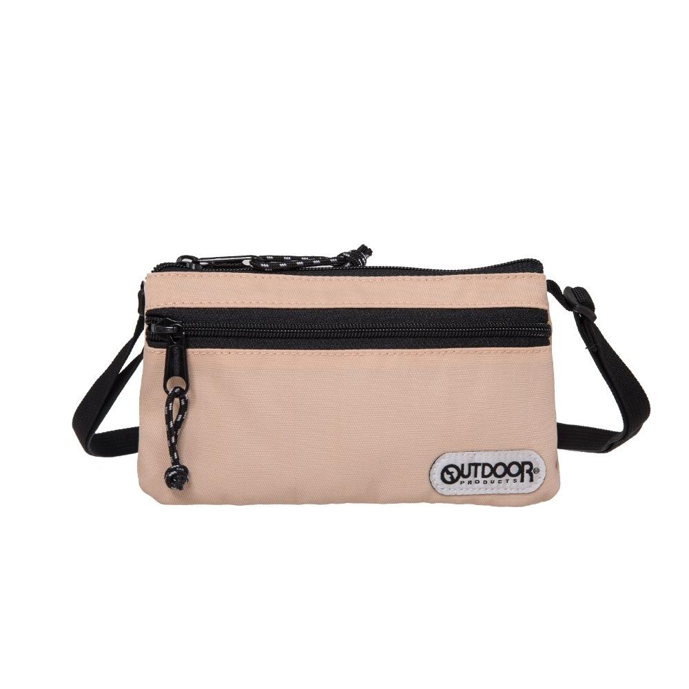 【OUTDOOR】隨身側背包-棕色 OD101125BE