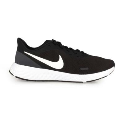 NIKE REVOLUTION 5 男慢跑鞋-輕量 路跑 BQ3204002 黑灰白