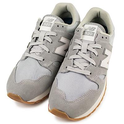 NEW BALANCE-520男女休閒鞋U520AF-D-灰