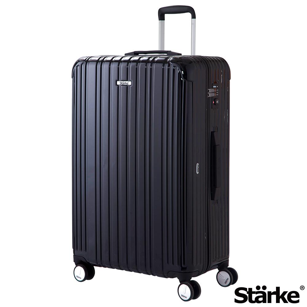 Starke 旅人系列 29吋TSA海關鎖拉鏈行李箱 - 黑色