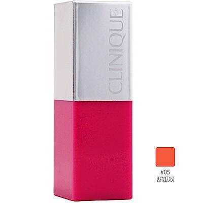 (即期品)CLINIQUE倩碧 紐約普普塗鴉唇膏2.3g#05 MELON POP甜瓜粉(效期至2021年07月)